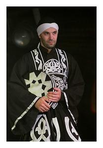Ahmad Alkhatib derviche du groupe Broukar
