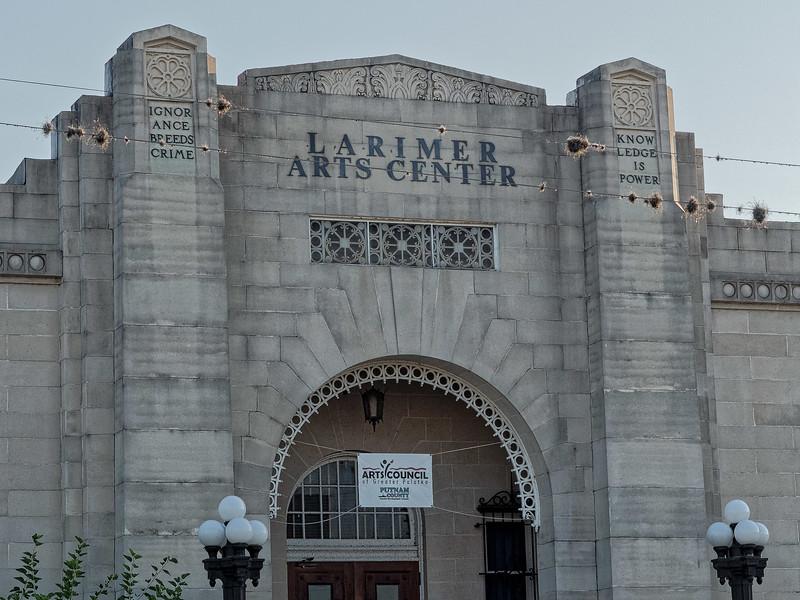 Larimer Arts Center, Palatka,