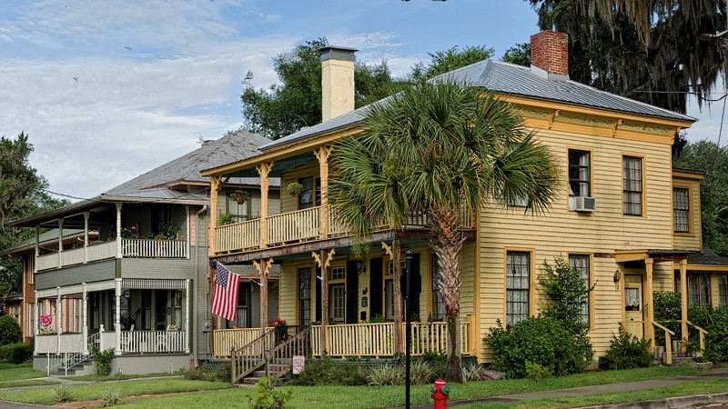 Homes in Palatka's South Historic District