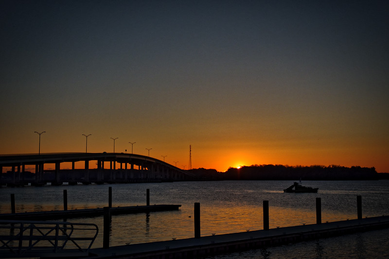 Palatka  Memorial Bridge over the St. Johns