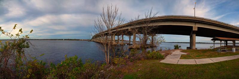 Memorial Bridge over St. Johns River