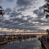 Palatka's Crystal Cove Marina Boat Ramp at Sunrise