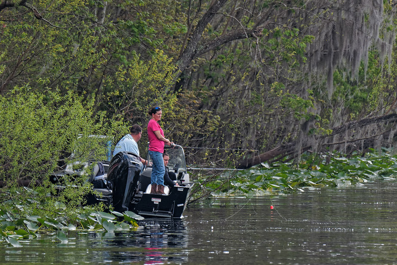 Fishing at the Dam