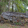 Antique Wagon near St Paul's Episcopal Church in Federal Point