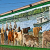 Cattle Drive to Paynes Prairie Mural