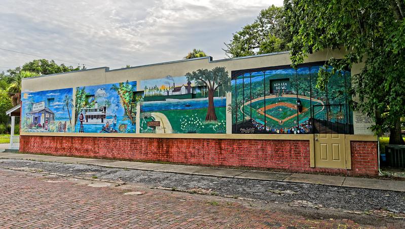 Hammock Hall's Mural