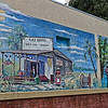 Palatka's Gay Bros. West-End Grocery Mural