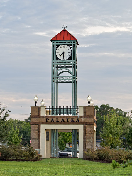 Palatka Millennium Clock Tower