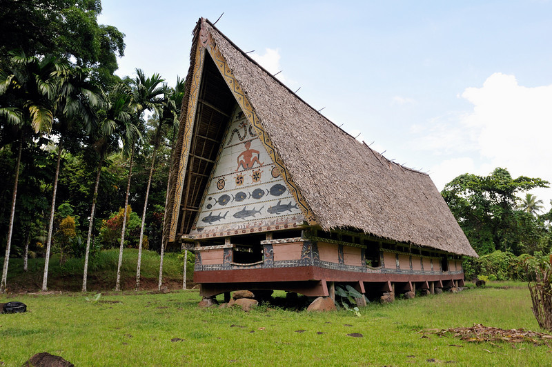 Traditional meeting house for Palauan men