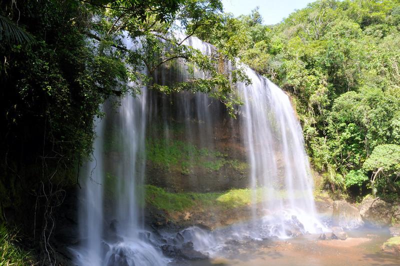 The waterfall at Ngardmau