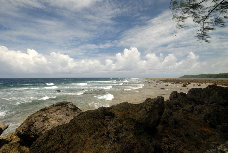 Orange beach section, facing southwest, Peleliu