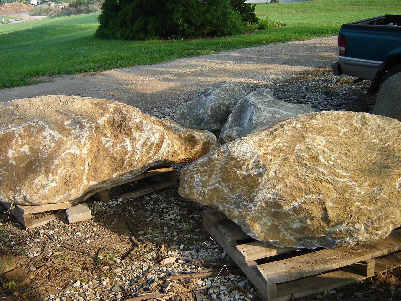 Maryland Fieldstone Boulders