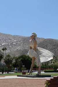 Back into downtown Palm Springs