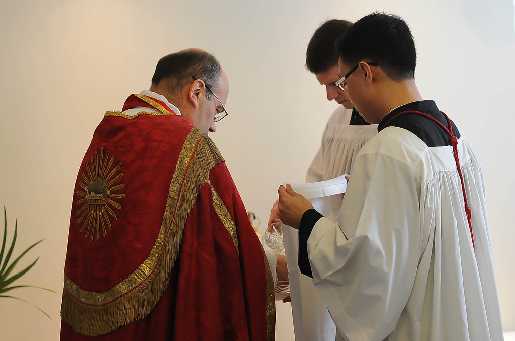 The prayers of the blessing, the Antiphon of the procession and the hymn Gloria, laus make this one of the most impressive ceremonies of the Liturgical Year.