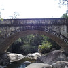 The Crystal Creek Bridge in the Puluma Range constructed by hand by the local unemployed during World War II.