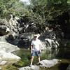 Rod at Little Crystal Creeks Falls in the Paluma Range
