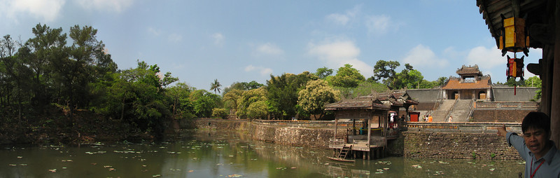 Tomb of Emperor Tu Duc, Hue, Vietnam