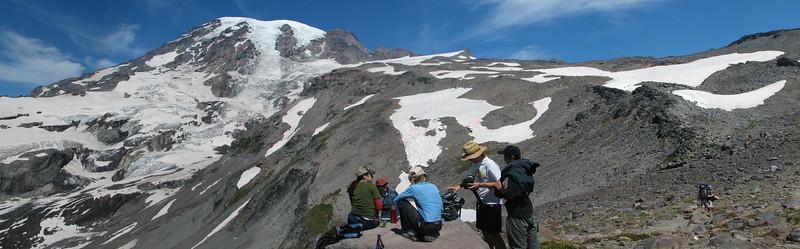 Lunch break, Mt. Rainier, WA