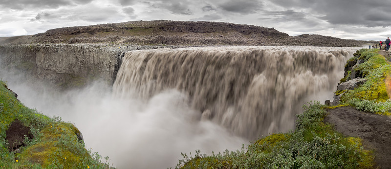 Dettifoss, the most powerful waterfall in Europe.