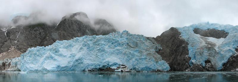 Northwestern Glacier in Kenai Fjords National Park, near Seward, AK