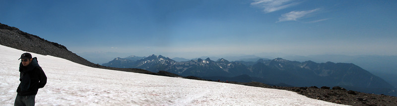 On the slopes of Mount Rainer