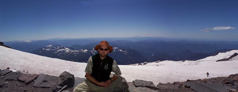 Self Portrait, Camp Muir, Mt. Rainier, WA