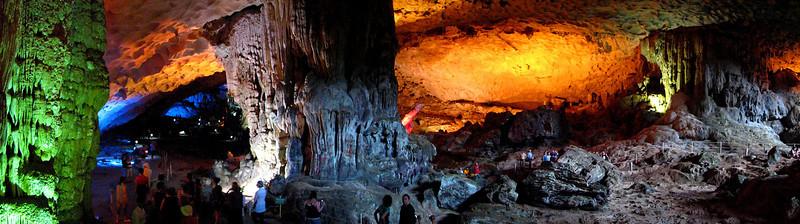 Surprising Cave, Ha Long Bay, Vietnam
