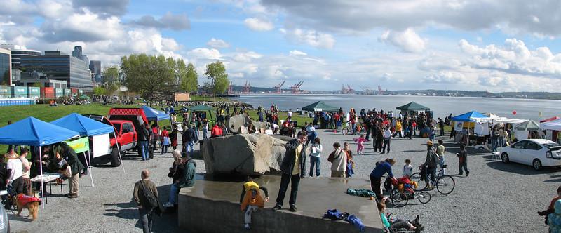 Step it Up '07 festival in Myrtle Edwards Park, Seattle, WA