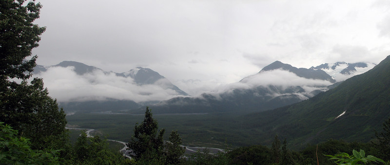 Trail to the top of Exit Glacier and the Harding Ice Field, Kenai Fjords National Park.