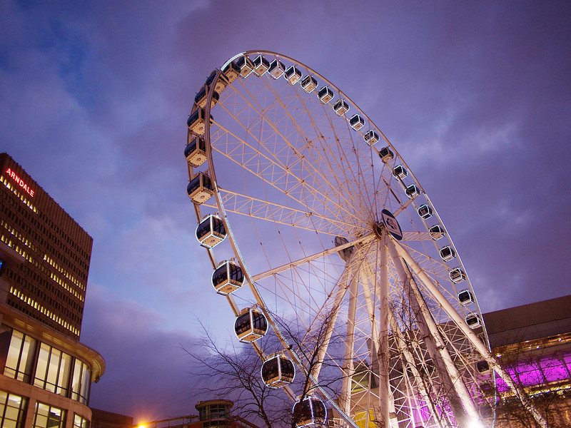Manchester's observation wheel.