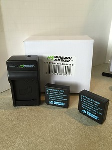 Wasabi batteries & charger