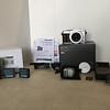The whole kit:  camera, lens cap, flash, original battery & charger, Wasabi batteries & charger, sd card, manual, software, strap