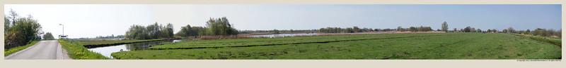 Landschap Kerkeweg Munnekeburen Friesland