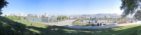 San Francisco. Alta Plaza Park. Has to be the world's coolest playground