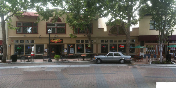 Sunnyvale, California. Part of Murphy Avenue downtown