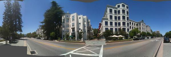 Mountain View, California. Castro Street north of El Camino Real