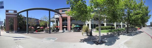 Menlo Park, California. British Bankers Club, Cafe Borrone and Kepler's Books