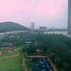 View from the hotel.<br /> <br /> Tung Chung, Hong Kong.