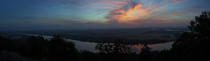 Petit Jean Mountain Sunrise