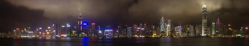 Hong Kong, China #0011 $99 Custom sizing available as large as 15x81 inches