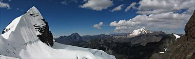 Pequeno Alpamayo, Condoriri Range, Bolivia #0006 $99 Custom sizing available as large as  15x50 inches