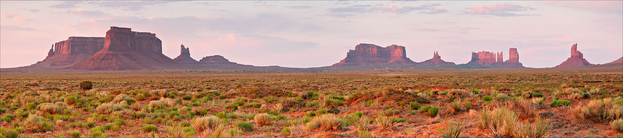 Monument Valley, Arizona #0008 $99 Custom sizing available as large as  15x68 inches