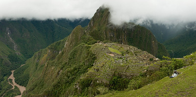 Machu Picchu, Peru ID #0001 $79 Custom sizing available as large as 15x30 inches