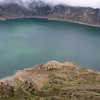 Crater Lake, Ecuador<br /> #0009<br /> $79<br /> Custom sizing available as large as  12x38 inches