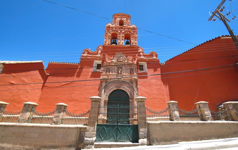 Santa Teresa church, Potosí, Bolivia