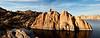Island on Watson Lake in Prescott Arizona
