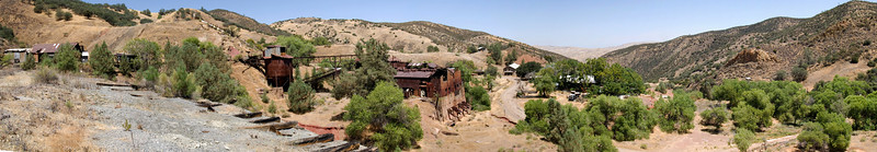 Ghost Town and mine of New Idria California