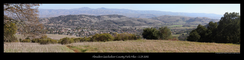 South San Jose and beyond panorama.