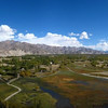 Indus Valley east from Shey Palace, Ladakh, India.