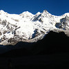 The view from Goecha La Viewpoint, Sikkim, India.